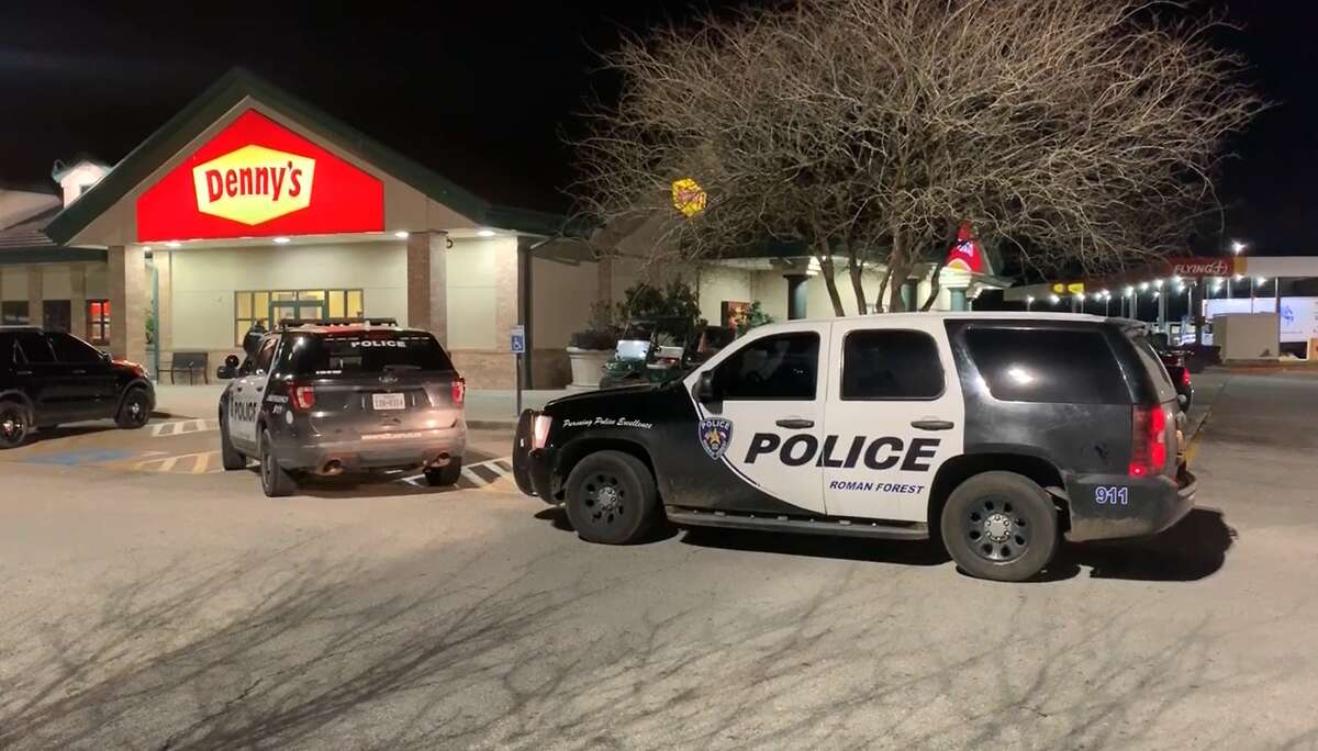 Four men in hoodies attempted to break open an ATM about 7 p.m. Monday inside a crowded truck stop in Montgomery County.