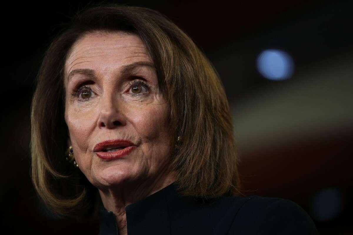 "The document lists ""pelosi,"" who federal prosecutors believe is House Speaker Nancy Pelosi, D-San Francisco."