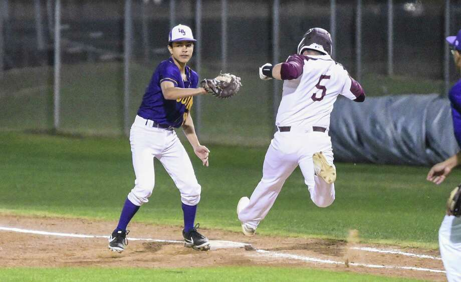 Adrian Sanchez and LBJ picked up their first two wins Friday at the Tony Rico Classic. The Wolves won 7-6 over Porter and 6-4 over Edcouch-Elsa. Photo: Danny Zaragoza /Laredo Morning Times