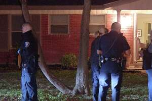 A man was stabbed in the back during a domestic dispute Monday, Feb. 18, 2019, in the 1100 block of Mt. Serolod, according to police.