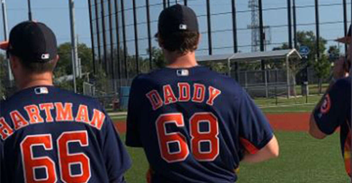 Forrest Whitley received a new uniform for Tuesday's workout at Astros spring training. Click ahead to see which professional athletes went to high school in the Alamo City.