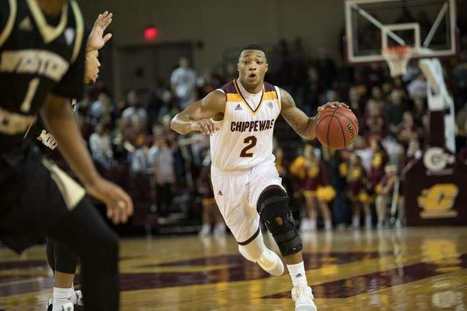 Edwardsville grad Shawn Roundtree Jr. in action with Central Michigan.