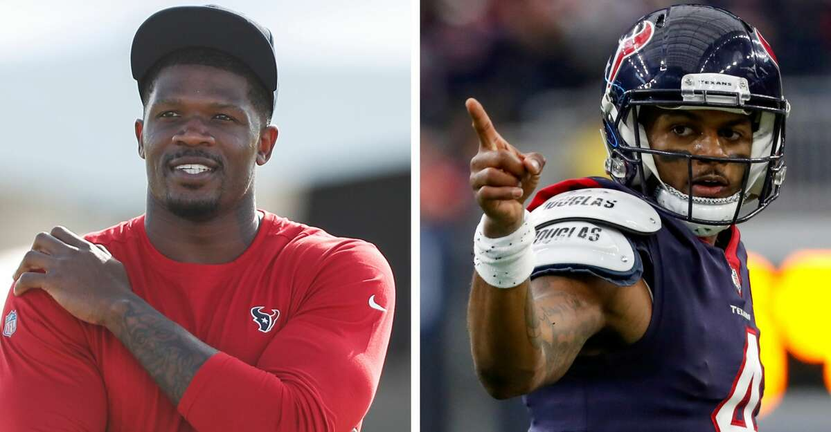 Andre Johnson has advised Deshaun Watson to stand his ground in his unhappiness with the Texans.