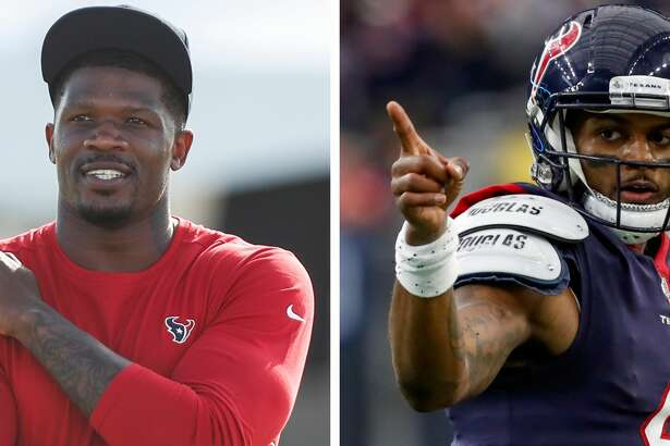 Andre Johnson and Deshaun Watson