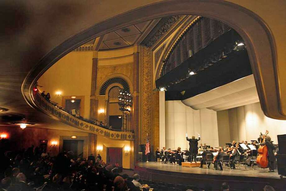 """The Stamford Symphony will perform """"The Path to Jupiter,"""" a program that includes works by Mozart, Haydn and Schubert, at Stamford's Palace Theatre, above, March 9-10. Photo: Contributed Photo / Darien News"""