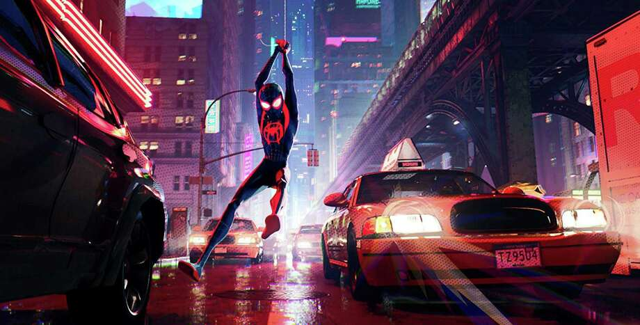 "Spider-Man swings ""Into the Spider-Verse"" Photo: Sony Pictures / IMDB"