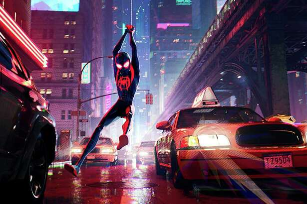 "Spider-Man swings ""Into the Spider-Verse"""