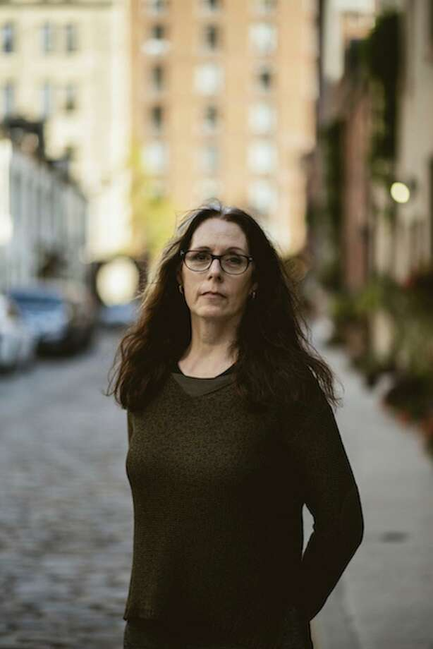 """Bestselling author Laurie Halse Anderson, known for the unflinching way she writes about, and advocates for, survivors of sexual assault, will kick off her nationwide book tour for her latest work, """"Shout,""""at the Fairfield University Bookstore Downtown March 11. Photo: Contributed Photo"""