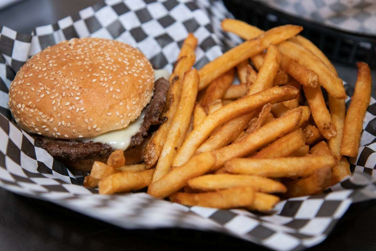 The butter burger at Campy's Cookout in Brookfield.