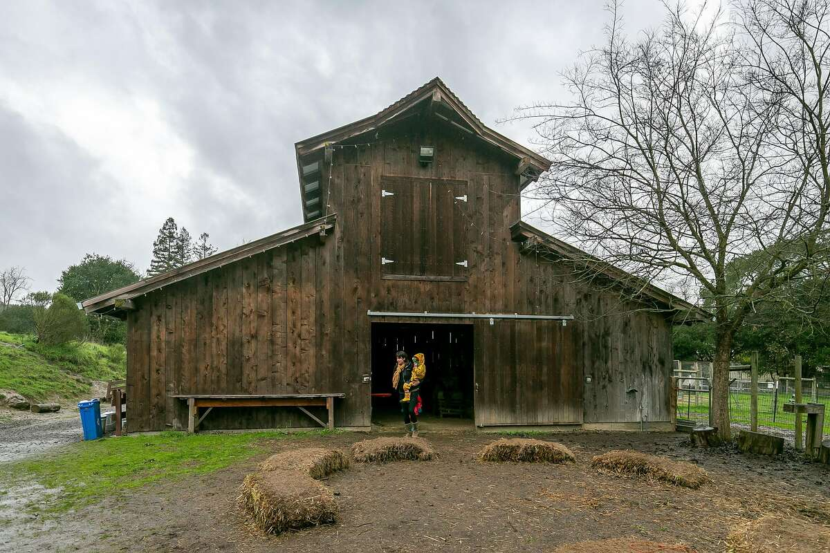 The barn at Connolly Ranch in Napa, Calif. is seen on February 9th, 2019.
