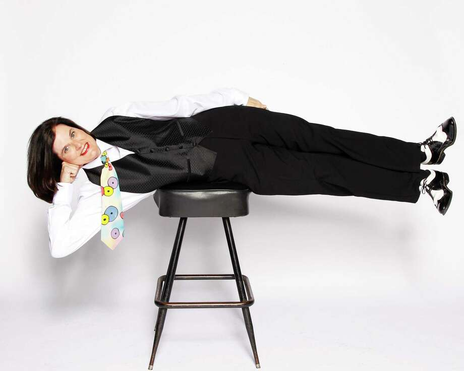 """Paula Poundstone has a podcast called """"Nobody Listens to Paula Poundstone."""" Photo: Shubert Theatre / Contributed Photo"""