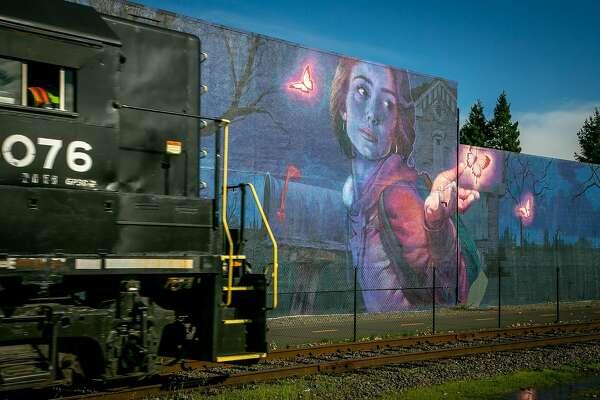 Napa's exciting Rail Arts District boasts public art and a legitimate edge