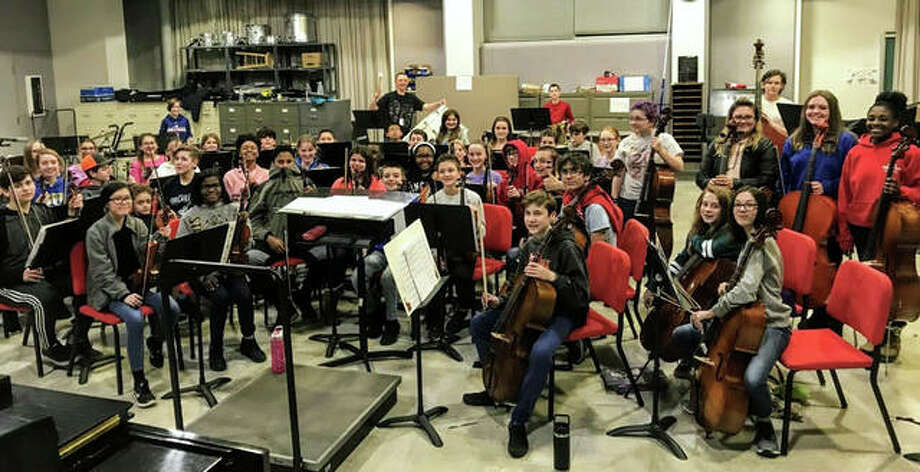The Alton Youth Symphony.