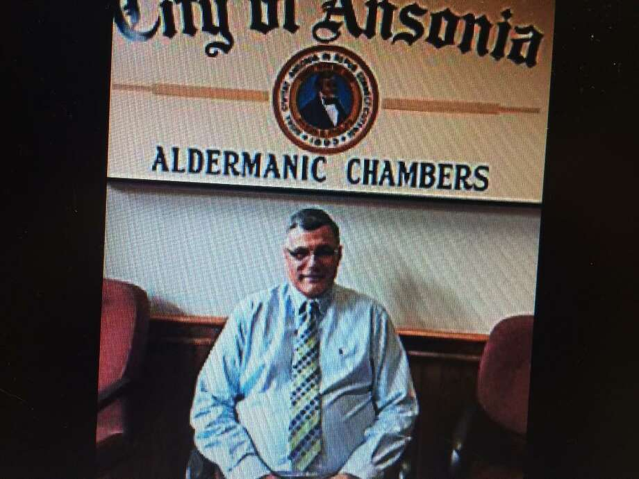 Frank DeLibero following his appointment as an Ansonia alderman in June, 2015 to complete the unexpired term of Daniel Evans, who moved from the city.. Photo: / Jean Falbo-Sosnovich