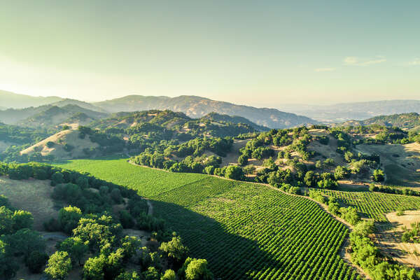 Cole Ranch, America's smallest wine appellation in the hills behind Ukiah, Calif., spreads across 150 acres and is listed for $3.3 million.