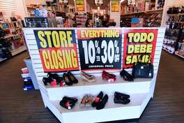February 17, 2019 - Orlando, Florida, United States - A Payless ShoeSource store is seen in Orlando, Florida on February 17, 2019, the first day of the firm's liquidation sale after confirming on February 15, 2019 that it will close its 2,100 stores in the U.S. and Puerto Rico. The company filed bankruptcy in 2017 and closed 673 stores. (Photo by Paul Hennessy/NurPhoto via Getty Images)