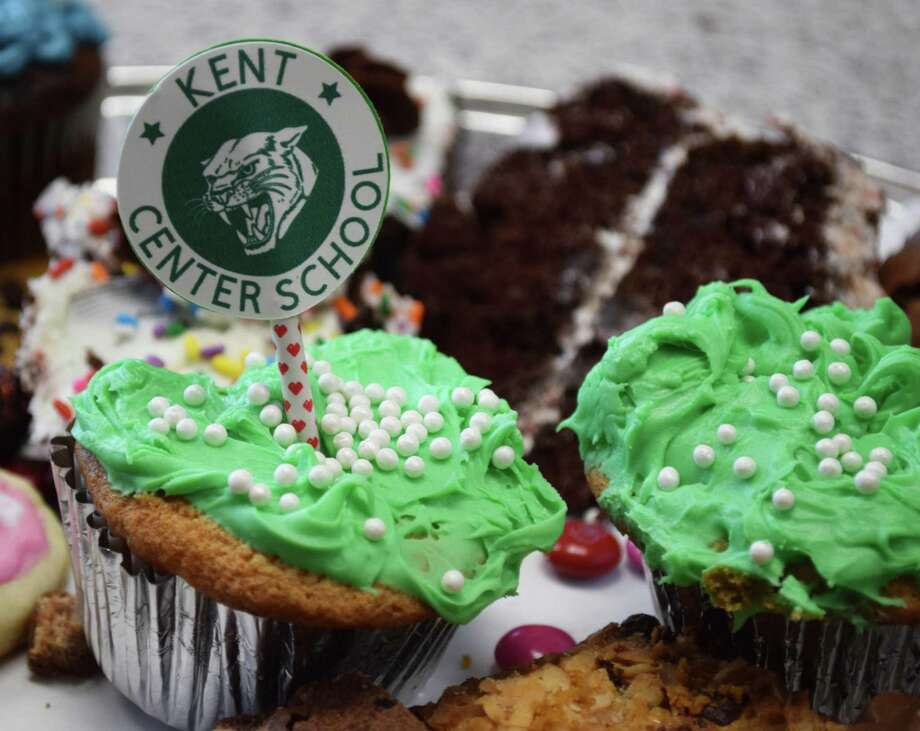 Colorful chocolate cupcakes and other sweet treats were among the offerings at the annual event. Photo: Deborah Rose / Hearst Connecticut Media / The News-Times  / Spectrum