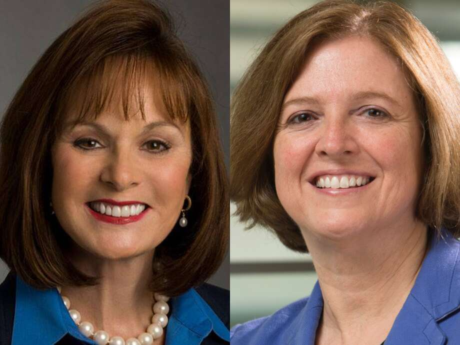 Houston oilfield service giant Halliburton has appointed two new members to the company's board of directors. From Left: Patricia Hemingway Hall and Katherine Banks. Photo: Houston Chronicle
