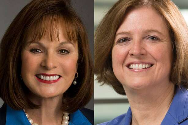 Houston oilfield service giant Halliburton has appointed two new members to the company's board of directors. From Left: Patricia Hemingway Hall and Katherine Banks.