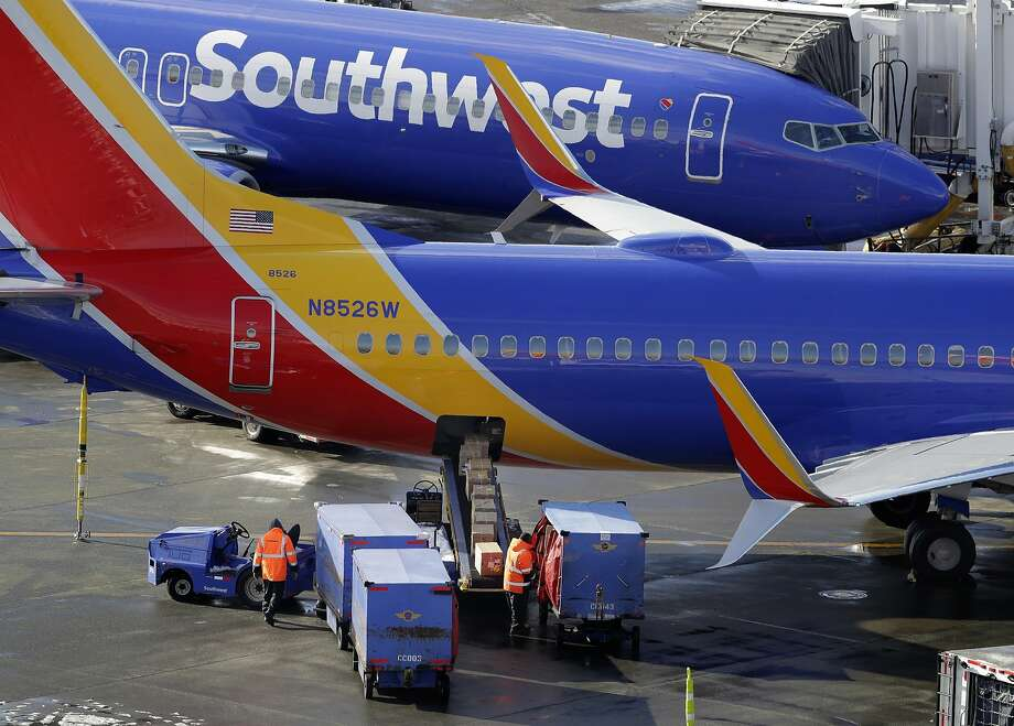 Southwest has canceled 519 flights since Feb. 15, according to FlightAware.com, although the total includes flights grounded by weather. A breakdown by cause wasn't available.   (AP Photo/Ted S. Warren, File)  >>>See the rise of Southwest Airlines from the early days ... Photo: Ted S. Warren, Associated Press