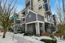 This one-bedroom condo in Greenwood has an open concept with new floors, a cozy fireplace and a private balcony with territorial views. There's plenty of shiny new features including stainless appliances, WiFi-enabled smart lighting and a newer water heater. 9057 Greenwood Ave. N., #303, listed for $330,000. See the full listing here.