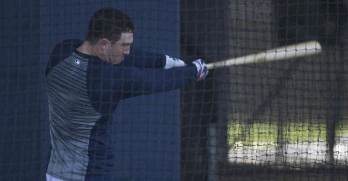 PHOTOS: Astros spring training Houston Astros third baseman Alex Bregman (2) swings in the batting cage at Fitteam Ballpark of The Palm Beaches on Day 6 of spring training on Tuesday, Feb. 19, 2019, in West Palm Beach. Browse through the photos to see action from Astros spring training on Tuesday, Feb. 19, 2019.