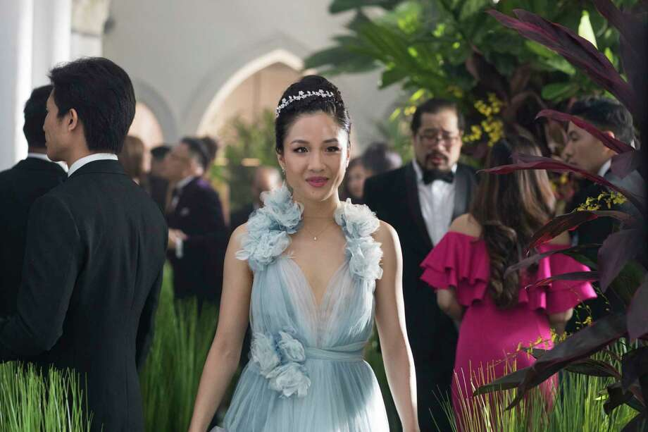 """This image released by Warner Bros. Entertainment shows Constance Wu in a scene from the film """"Crazy Rich Asians."""" (Sanja Bucko/Warner Bros. Entertainment via AP) Photo: Sanja Bucko / © 2017 Warner Bros. Entertainment Inc. and RatPac-Dune Entertai"""