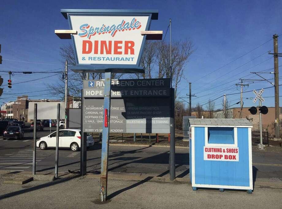 Springdale Diner owner Chris Perisanidis said he has a bin in his parking lot of his