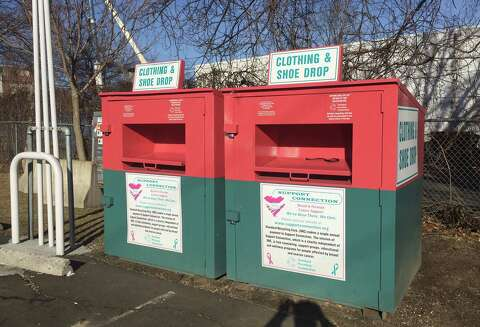 Donors: Check labels on clothing drop-off bins