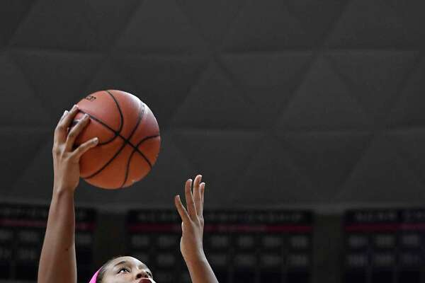 UConn's Megan Walker during the first half against Temple on Feb. 9 in Storrs.