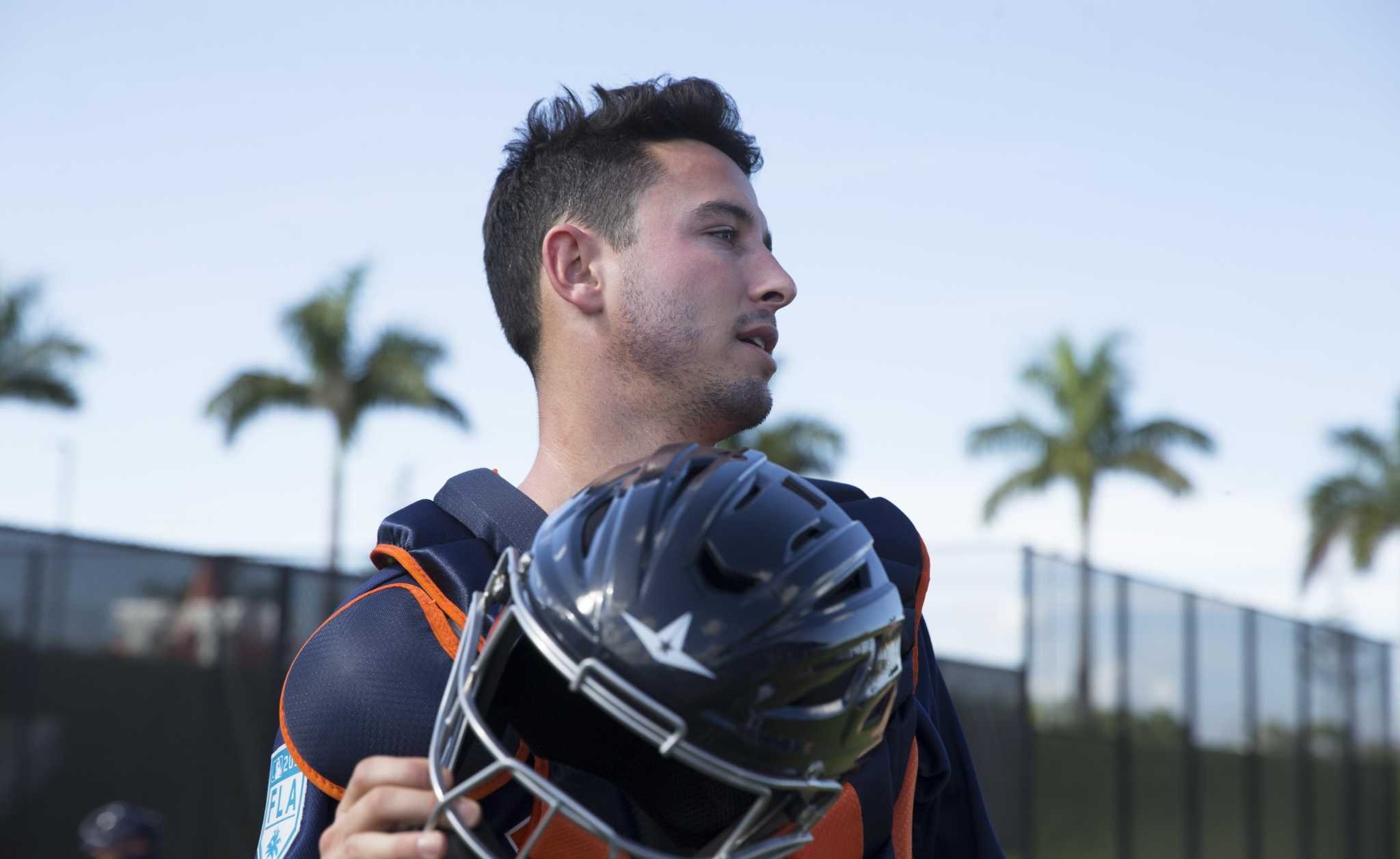 Garrett Stubbs feeds ambition of catching for Astros