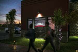 The Sky Sportsbar & Lounge in Brownsville, Texas, on Feb. 14, 2019. Osiel Cardenas Jr., the son of the former head of Mexico's Gulf cartel, was arrested at the bar in March 2018, a reminder that the drug trade is never far away from the region. (Ilana Panich-Linsman/The New York Times)