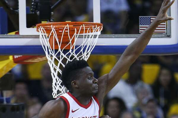 Besides making the Rockets' defense much more imposing, Clint Capela was averaging 17.6 points and 12.6 rebounds per game before he was sidelined by thumb surgery.