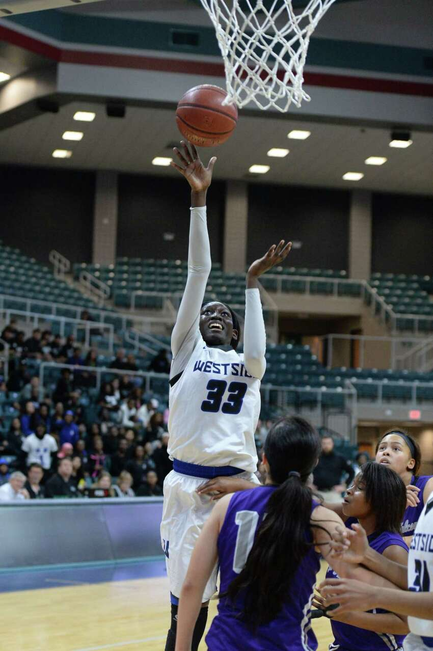 P Fatou Samb, Sr., Westside The bulk of Westside's production came from its seniors last year but don't miss the 6-foot-3 Samb, who is in for a big year. She recently committed to California-Berkeley.