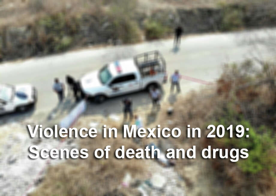 Scenes from cartel violence and the drug war in Mexico in 2019 - San