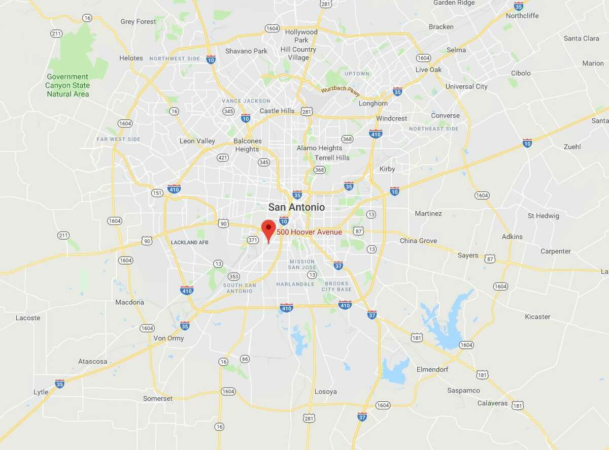 Google maps show the area Isaiah