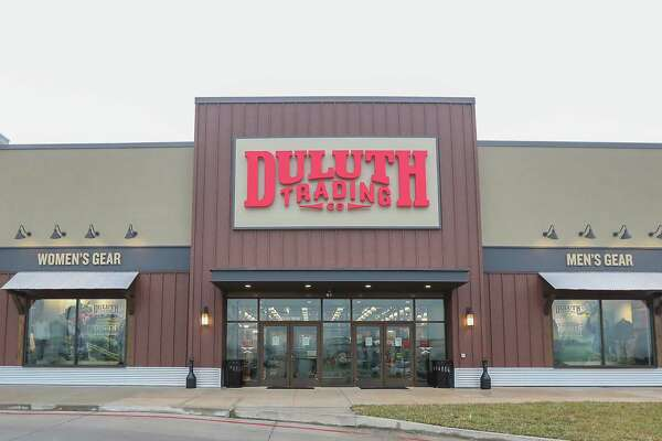 The Duluth Trading Co.'s first Houston-area store Tuesday, Feb. 19, 2019, in Friendswood.