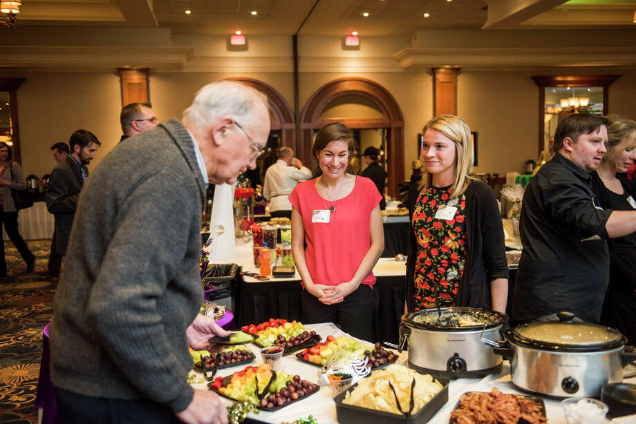 Supporters enjoy a previous Marti Gras Feast for The Legacy Center for Community Success. It will host its 2019 feast fundraiser from 5:30 to 8:30 p.m. Thursday, Feb. 28, at the Great Hall Banquet and Convention Center. (Photo provided) Photo: Photo Provided/Legacy Center For Community Success