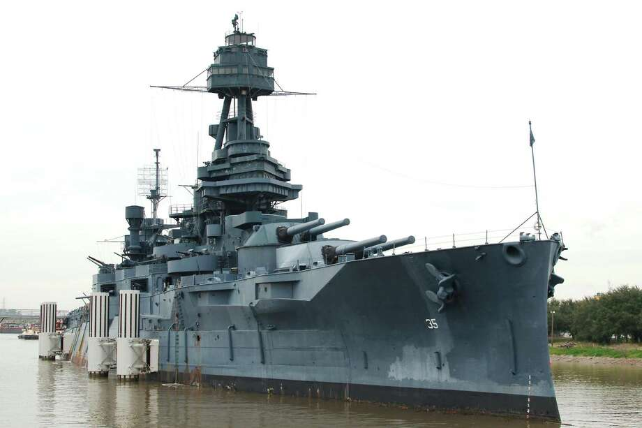 """An April 7 gala will benefit efforts to dry-berth the Battleship Texas so it can be repaired. The """"Spirit of Texas"""" gala will be from 4-8 p.m. at Armadillo Palace, 2015 Kirby Drive in Houston.>>>See more for a look back at when the Battleship Texas turned 100... Photo: Kirk Sides / Staff Photographer / © 2018 Kirk Sides / Houston Chronicle"""