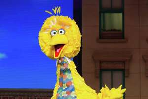 """Big Bird (Brandon Wagner) will be among the stars of """"Sesame Street Live! Make Your Magic"""" when the show comes to the Toyota Oakdale Theatre in Wallingford, March 6 and 7, and Webster Bank Arena March 9 and 10."""