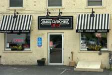 Exterior of Smoke and Bones Barbecue, now known as House of Bones, on New Have Avenue in Derby.