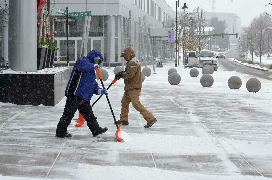 Stamford Public Schools canceled all after school programs on Feb. 20, 2019 ahead of an expected afternoon snow fall. Photo: Matthew Brown / Hearst Connecticut Media / Stamford Advocate
