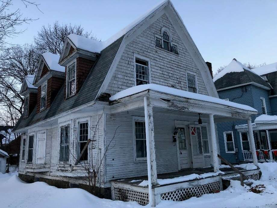 "Capital Region Land Bank buys infamous ""zombie property"" at 2 Cornelius Ave. for $1 on Wednesday, February 20, 2019. Photo: Courtesy Of Capital Region Land Bank"