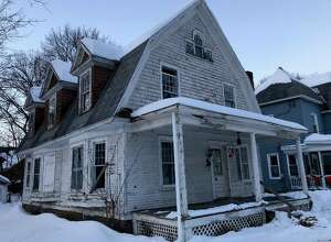"Capital Region Land Bank buys infamous ""zombie property"" at 2 Cornelius Ave. for $1 on Wednesday, February 20, 2019."