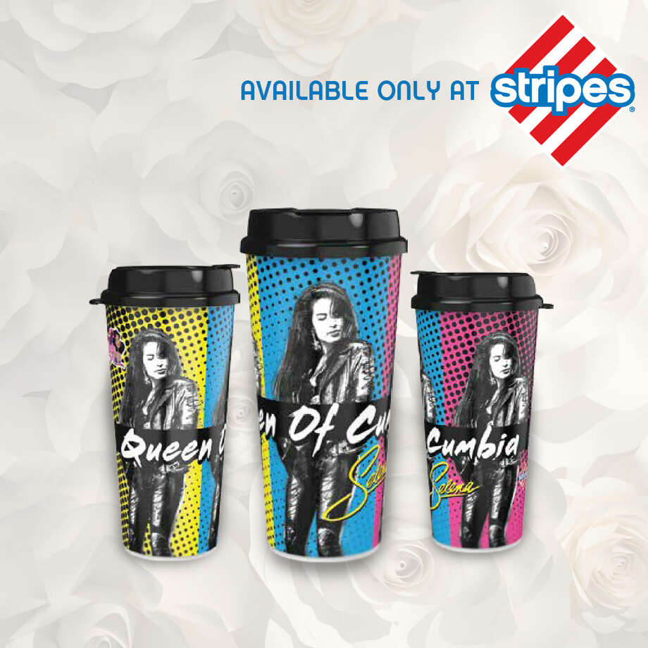 "Stripes will release three limited-editio cups featuring Selena, known as the ""Queen of Cumbia."" Photo: Courtesy"