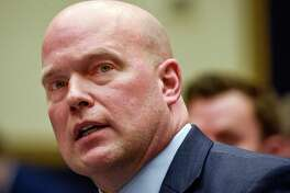 Acting Attorney General Matthew Whitaker attends the House Judiciary Committee oversight hearing on Feb. 8, 2019, in Washington.