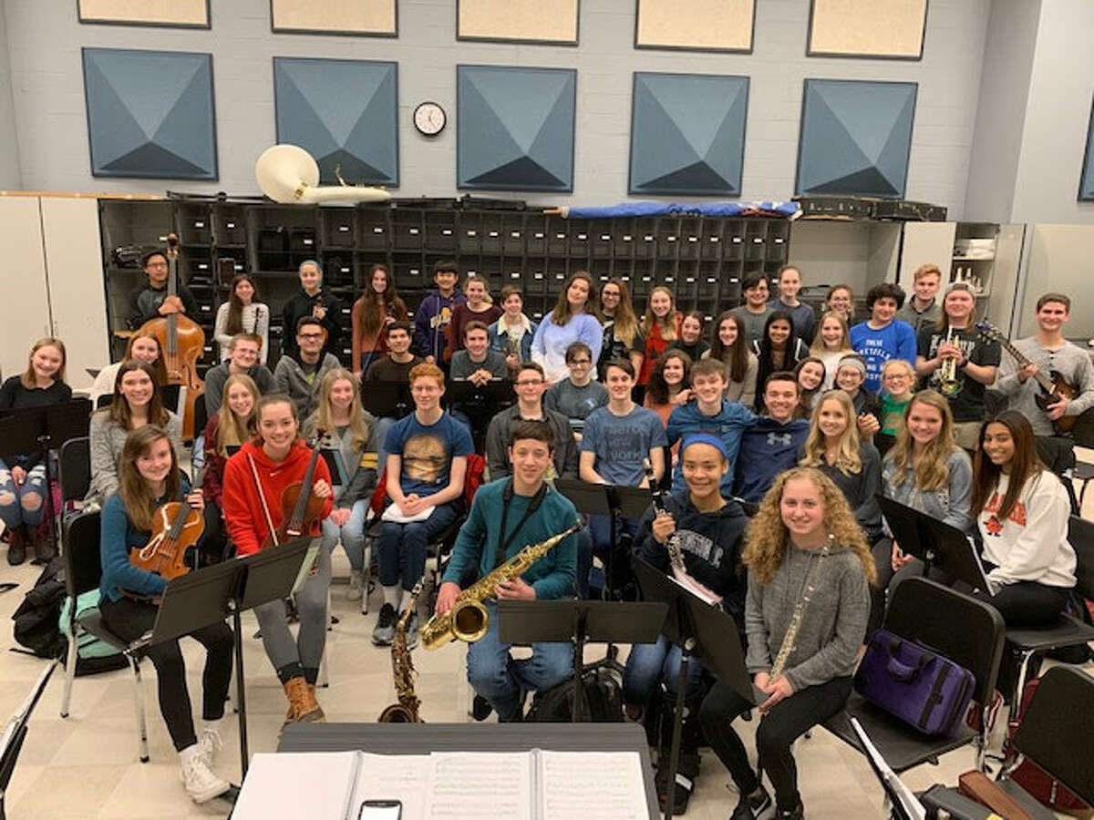 """Rehearsals for Columbia High School's production of """"Big Fish."""""""