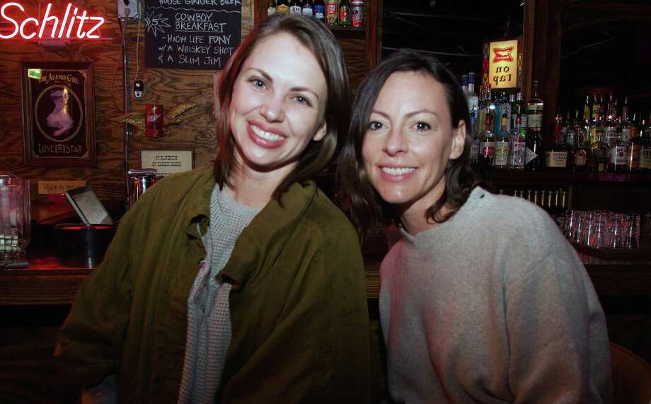 Britta Moe and Regan Blaufarb are at The Lonesome Rose. Photo: Xelina Flores /Contributor