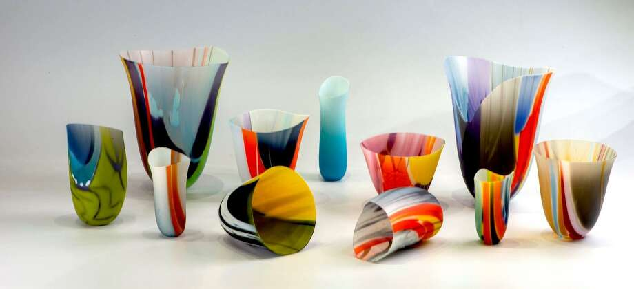 A sampling of the fine glass work by area artist Al Heilman. Photo: Courtesy Photo