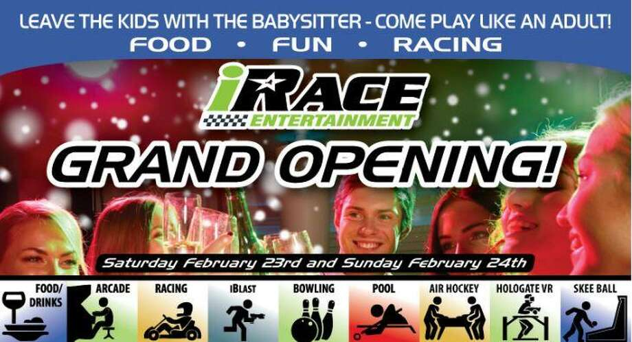 iRace Entertainment - Katy's home for laser tag, virtual reality, air hockey and go-karts - is inviting the public to attend its official grand opening this weekend. Photo: IRace Entertainment